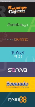 Typographic logo design